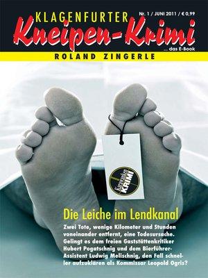 cover image of Die Leiche im Lendkanal