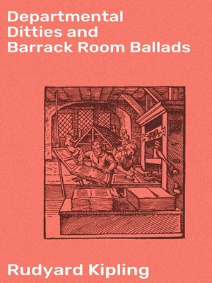 cover image of Departmental Ditties and Barrack Room Ballads