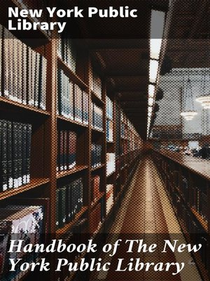cover image of Handbook of the New York Public Library