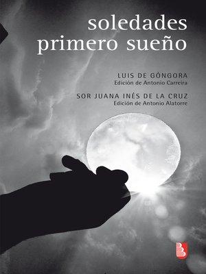 cover image of Soledades / Primero sueño