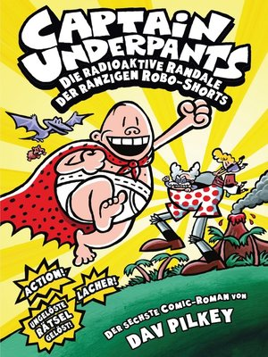 cover image of Captain Underpants, Band 6