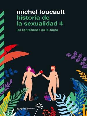 cover image of Historia de la sexualidad 4