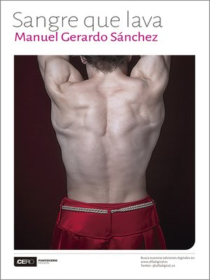 cover image of Sangre que lava