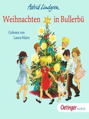 cover image of Weihnachten in Bullerbü