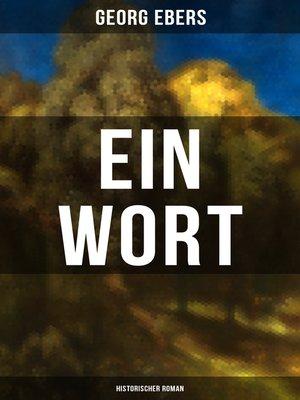 cover image of Ein Wort (Historischer Roman)