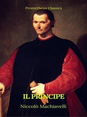 cover image of Il principe (Prometheus Classics)(Italian Edition)