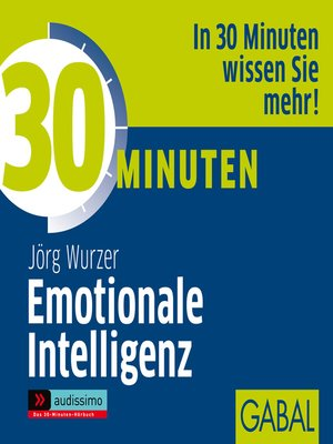 cover image of 30 Minuten Emotionale Intelligenz