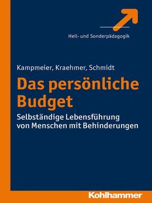 cover image of Das Persönliche Budget