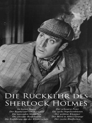 cover image of Die Rückkehr des Sherlock Holmes