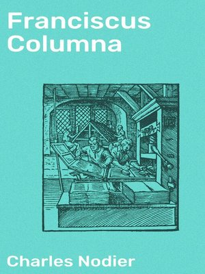 cover image of Franciscus Columna