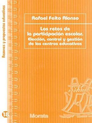 cover image of Los retos de la participación escolar