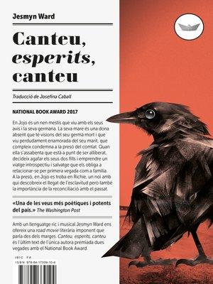 cover image of Canteu, esperits, canteu