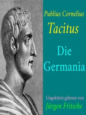 cover image of Publius Cornelius Tacitus