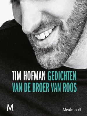 cover image of Gedichten van de broer van Roos