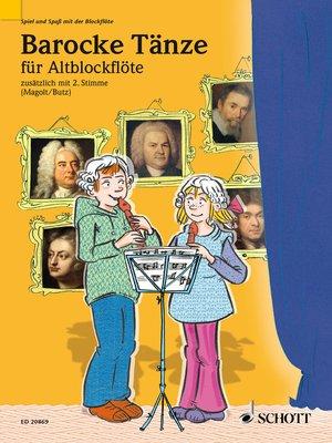 cover image of Barocke Tänze