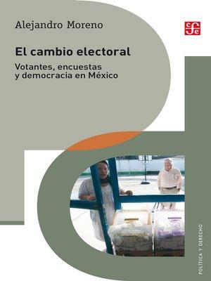 cover image of El cambio electoral