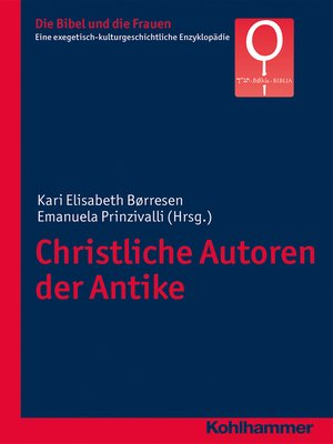 cover image of Christliche Autoren der Antike