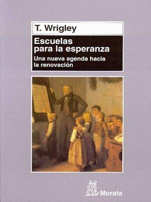 cover image of Escuelas para la esperanza