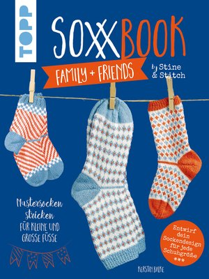 cover image of SoxxBook family + friends by Stine & Stitch