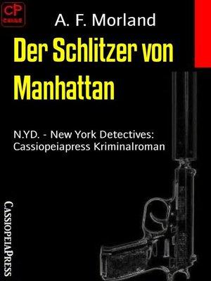 cover image of Der Schlitzer von Manhattan