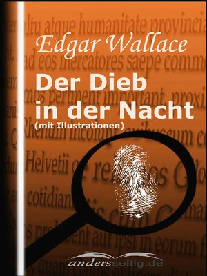 cover image of Der Dieb in der Nacht (mit Illustrationen)