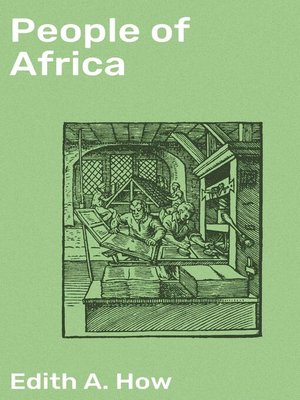 cover image of People of Africa
