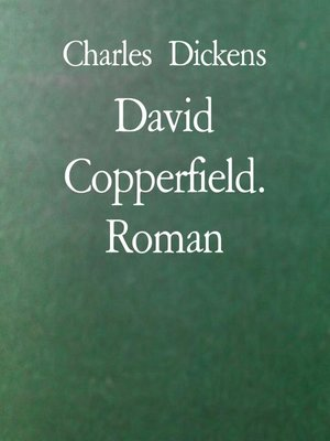 cover image of David Copperfield. Roman