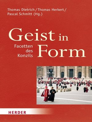 cover image of Geist in Form--Facetten des Konzils