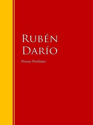 cover image of Prosas Profanas
