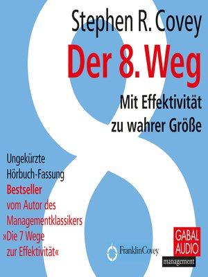 cover image of Der 8. Weg
