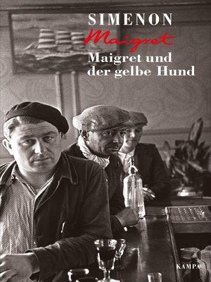 cover image of Maigret und der gelbe Hund