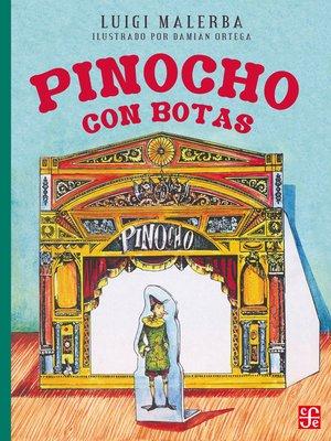 cover image of Pinocho con botas