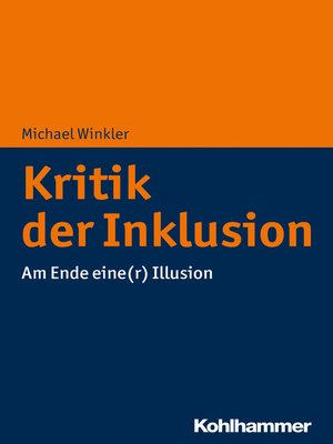 cover image of Kritik der Inklusion