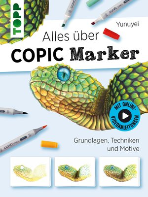 cover image of Alles über COPIC Marker