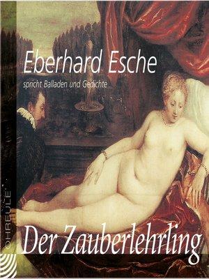 "cover image of ""Der Zauberlehrling"""