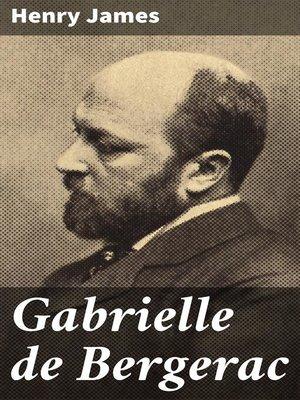 cover image of Gabrielle de Bergerac