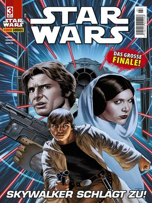 cover image of Star Wars Comicmagazin, Band 3--Skywalker schlägt zu