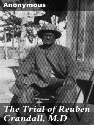 cover image of The Trial of Reuben Crandall, M.D