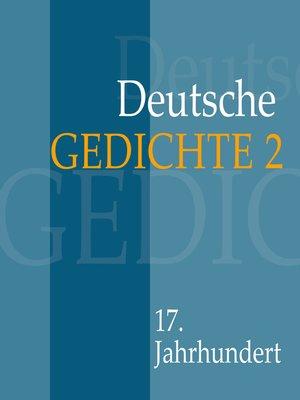 cover image of Deutsche Gedichte 2