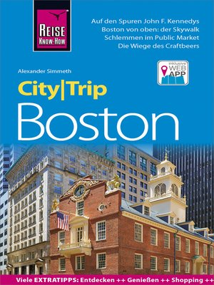 cover image of Reise Know-How CityTrip Boston