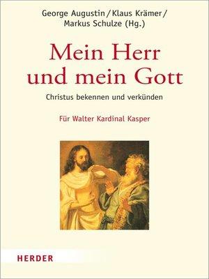 cover image of Mein Herr und mein Gott