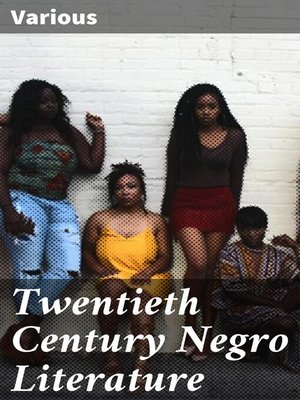 cover image of Twentieth Century Negro Literature
