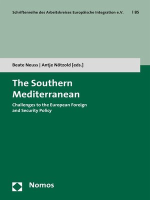 cover image of The Southern Mediterranean