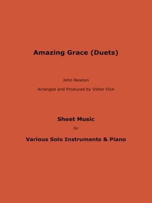 cover image of Amazing Grace (Duets)