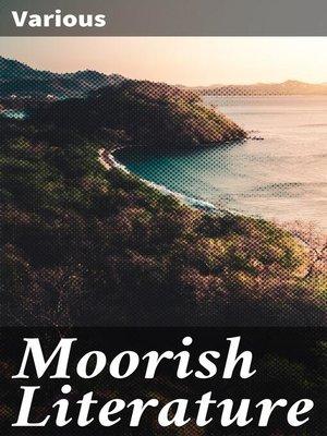 cover image of Moorish Literature