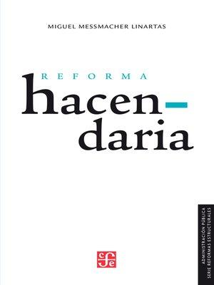 cover image of Reforma hacendaria