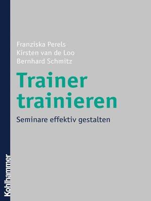 cover image of Trainer trainieren