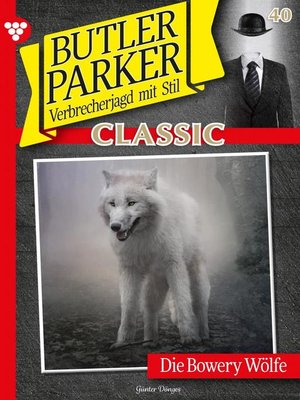 cover image of Butler Parker Classic 40 – Kriminalroman