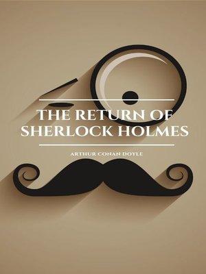 cover image of The Return of Sherlock Holmes (Golden Deer Classics)