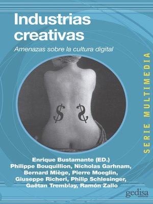cover image of Industrias creativas